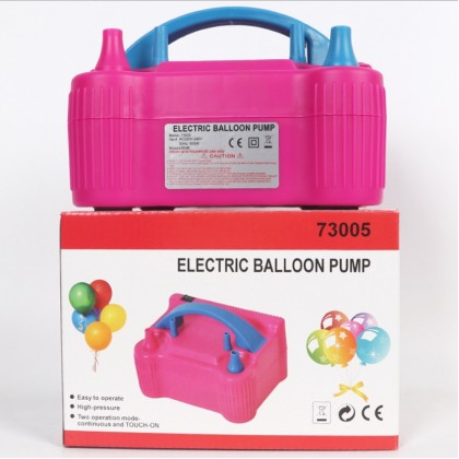 Miniis Electric Air Balloon Pump, Portable Dual Nozzle Inflator/Blower for Party Decoration