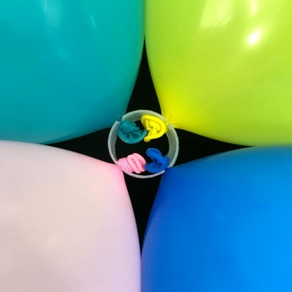 10 PCS 50PCS Balloon Ring Clips for Balloon Arch and Balloons Column Stand Party Decoration Accessory