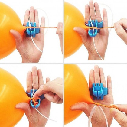 Easy to Use Knot Tying Tool for Latex Balloons Knotter Save Time Balloons Accessory Party Supplies
